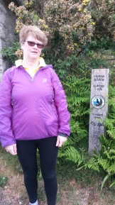 Marlborough Hotel May 2017 Sharon starting her sponsored walk