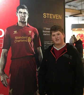 Anfield Stadium Tour - Jan 2018